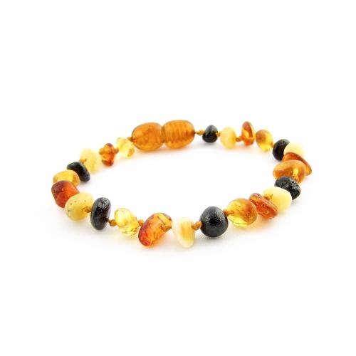 Amber Teething Bracelet TBNuP006