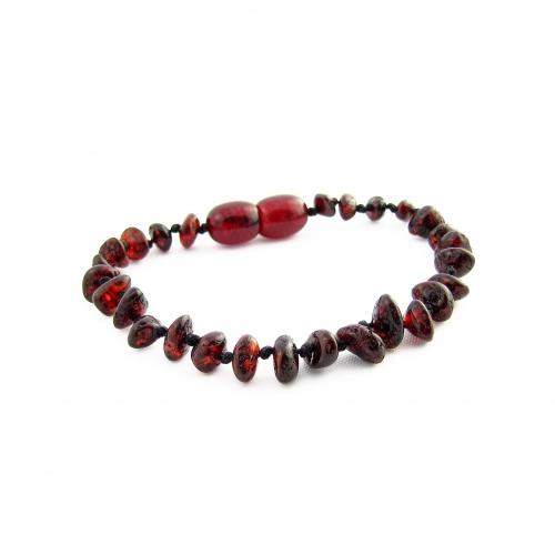 Amber Teething Bracelet TBNuP004