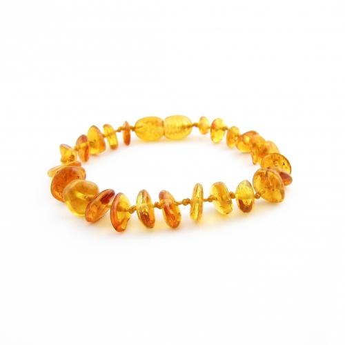 Amber Teething Bracelet TBChP002