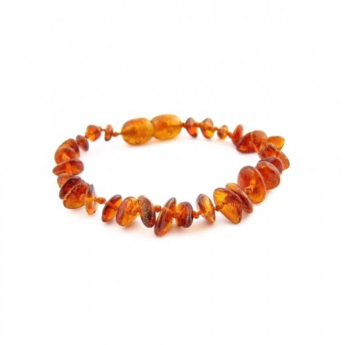 Amber Teething Bracelet TBChP003
