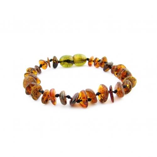 Amber Teething Bracelet TBChP012