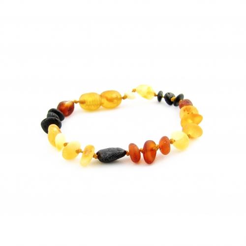 Amber Teething Bracelet TBMuR006