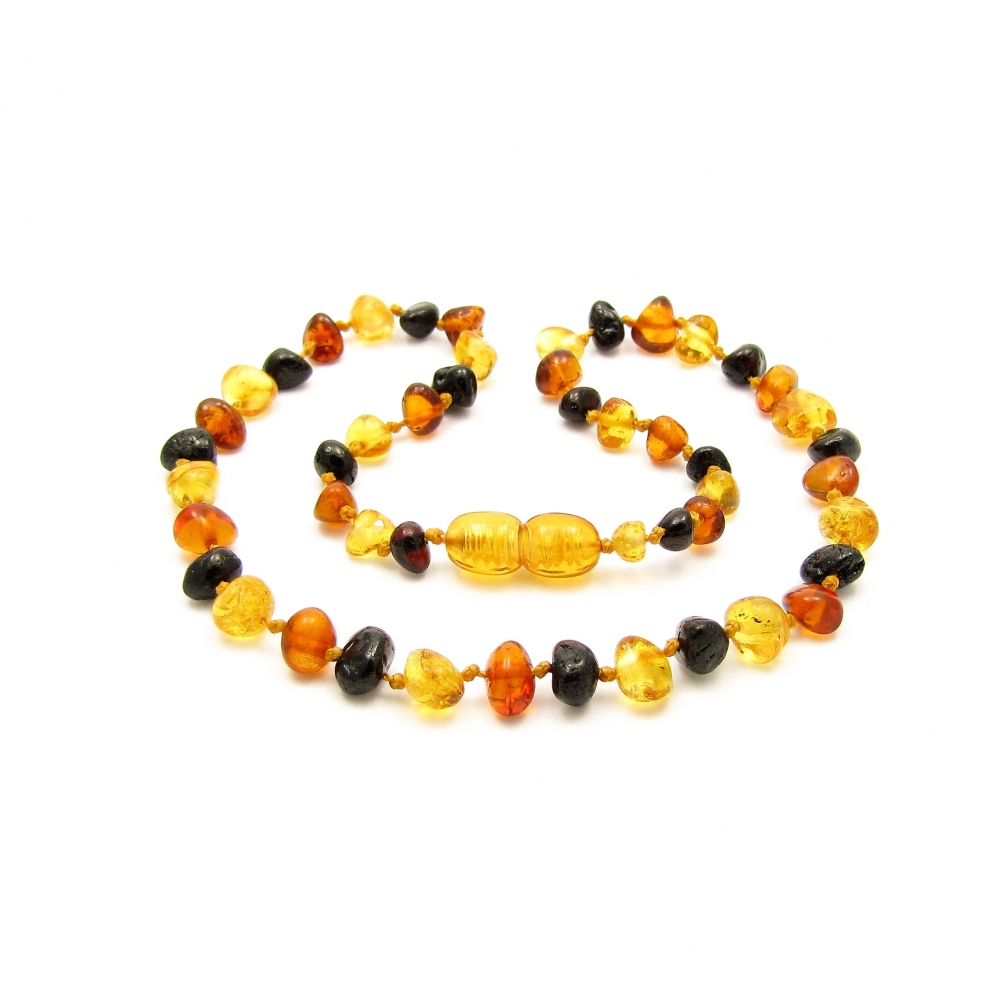 Natural Stone Teething Necklace