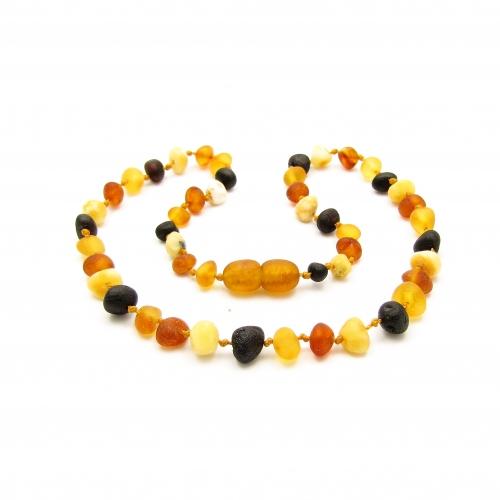 Baroque Amber Teething Necklace TNBaR006
