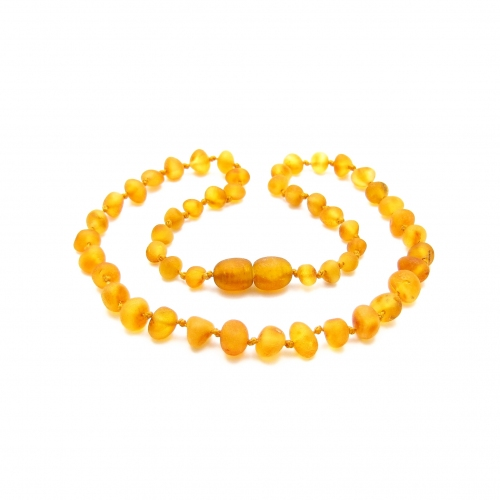Baroque Amber Teething Necklace TNBaR002