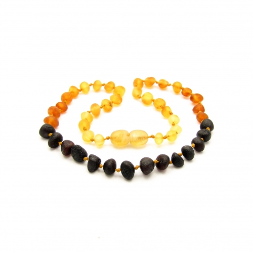 Baroque Amber Teething Necklace TNBaR007