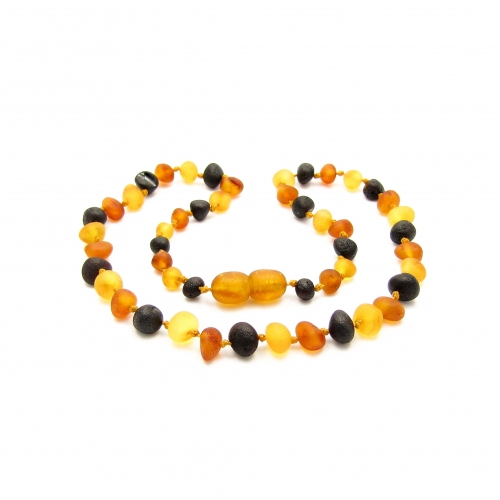 Baroque Amber Teething Necklace TNBaR010