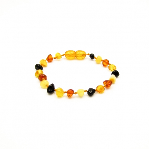 Baroque Amber Teething Bracelet TBBaP006
