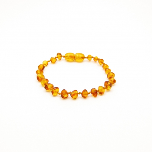 Baroque Amber Teething Bracelet TBBaP002