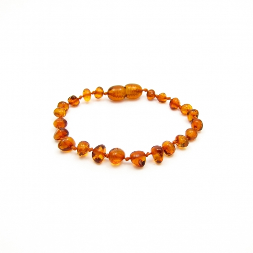 Baroque Amber Teething Bracelet TBBaP003