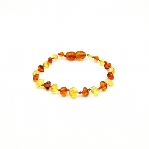 Baroque Amber Teething Bracelet TBBaP008