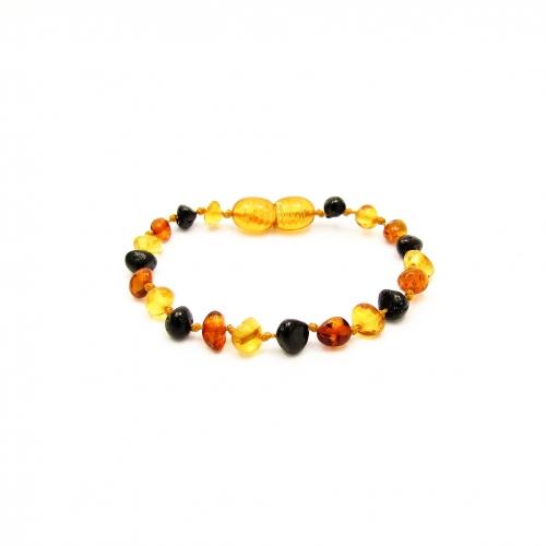 Baroque Amber Teething Bracelet TBBaP010