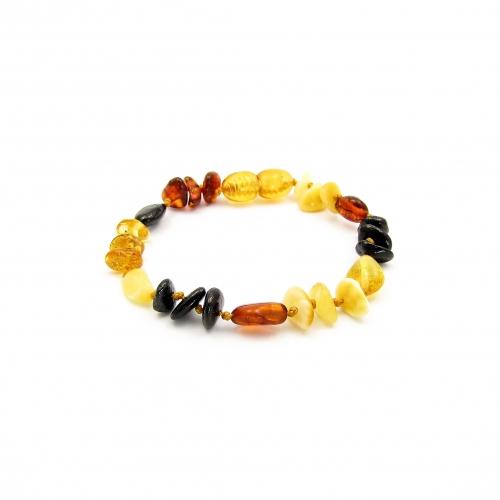 Amber Teething Bracelet TBMuP006