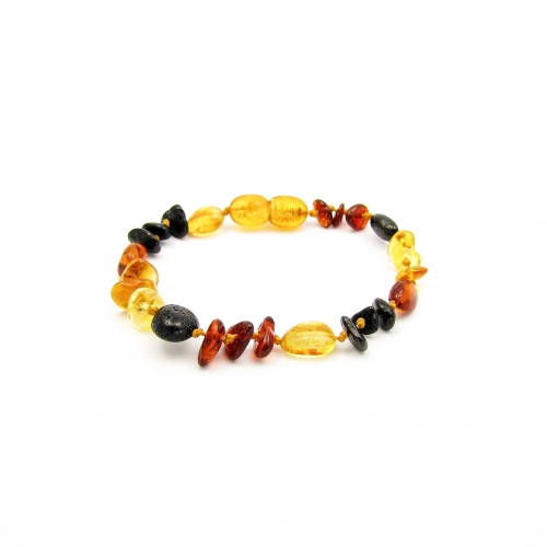 Amber Teething Bracelet TBMuP010