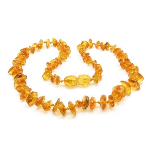 Amber Teething Necklace TNChP002