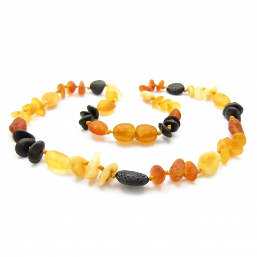 Amber Teething Necklace TNMuR006