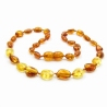 Amber Teething Necklace 124
