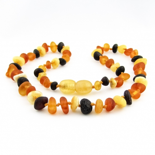 Amber Teething Necklace TNNuR006