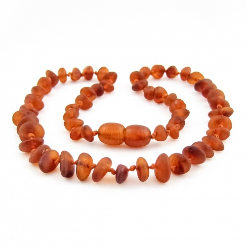 Amber Teething Necklace TNNuR003