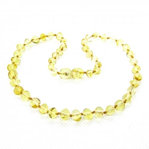 Baroque Amber Teething Necklace TNBaP001