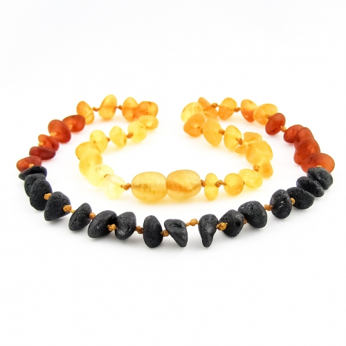 Amber Teething Necklace TNNuR007