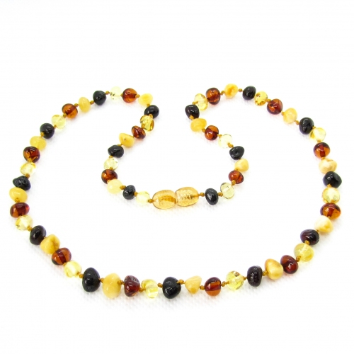 Baroque Amber Necklace ANBaP006