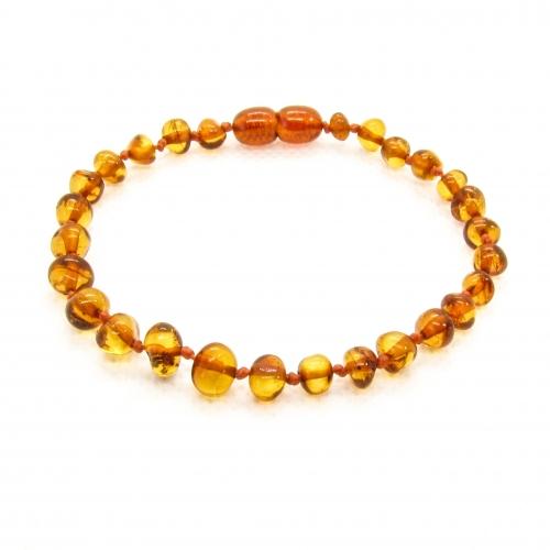 Baroque Amber Bracelet ABBaP003