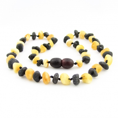 Amber Teething Necklace TNNuR013