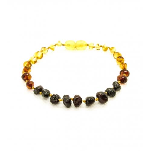 Baroque Amber Bracelet ABBaP007