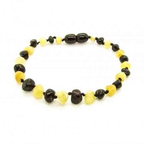 Baroque Amber Bracelet ABBaP013