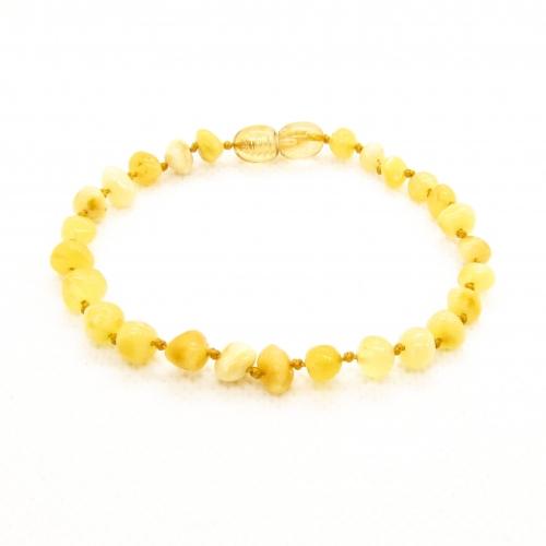 Baroque Amber Bracelet ABBaP014