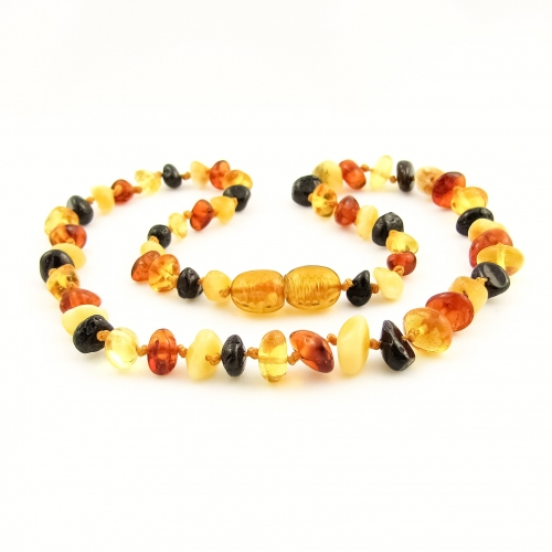 Amber Teething Necklace TNNuP006