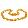 Baby Teething Amber Necklace 132