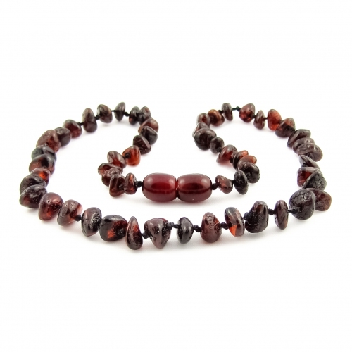 Amber Teething Necklace TNNuP004