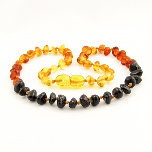 Amber Teething Necklace TNNuP007