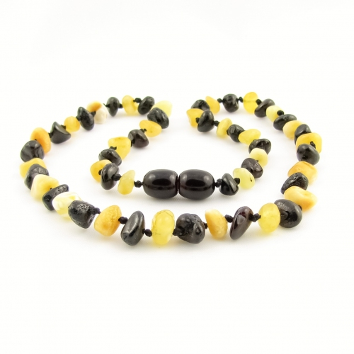 Amber Teething Necklace TNNuP013