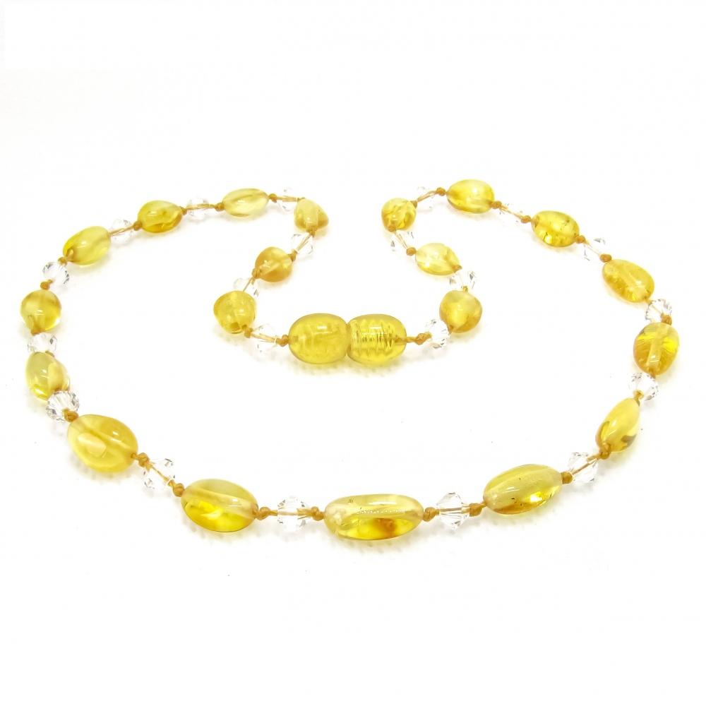 Amber Teething Necklace TNBeP114