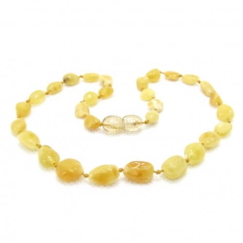 Amber Teething Necklace TNBeP014