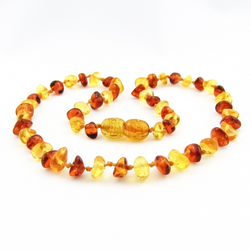 Amber Teething Necklace TNNuP008
