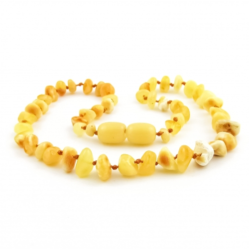 Amber Teething Necklace TNNuP014