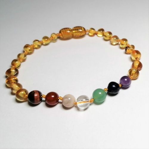 7 chakra knoted with clasp
