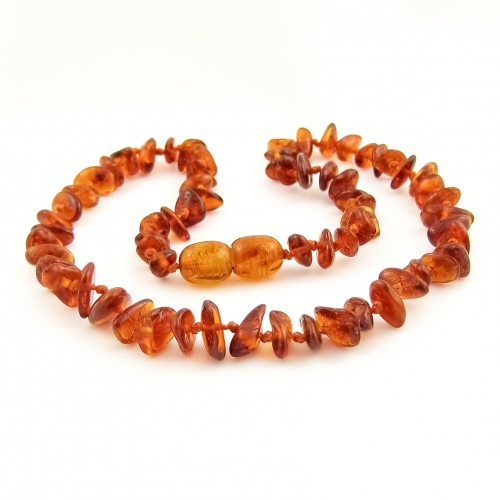 Amber Teething Necklace TNChP003