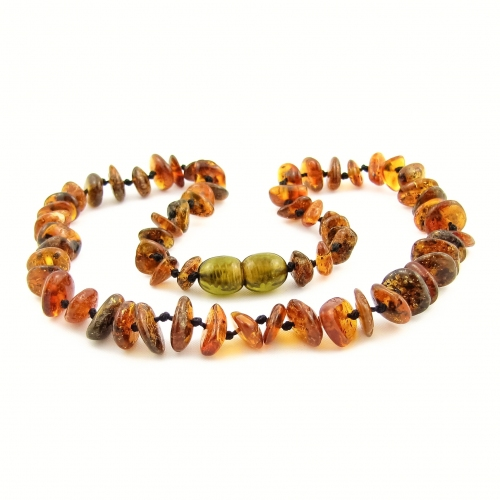 Amber Teething Necklace TNChP012